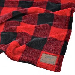 Hunter's Plaid Dog Blanket
