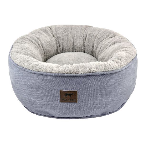 Dream Chaser Charcoal Donut Bed