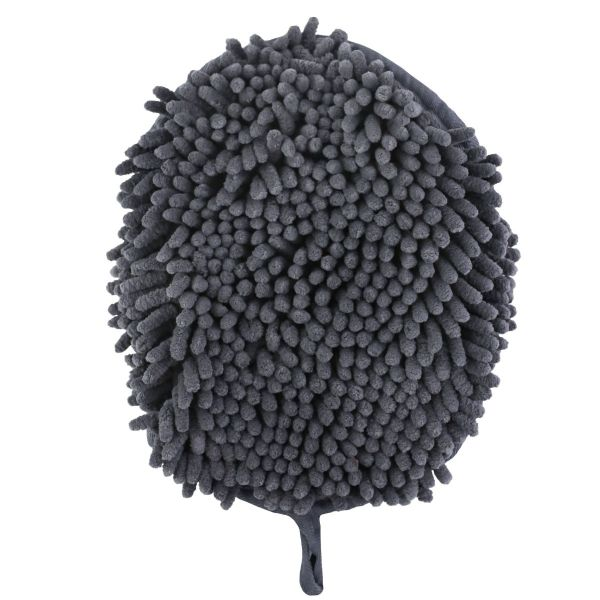 Charcoal Clean Paws Drying Mitt